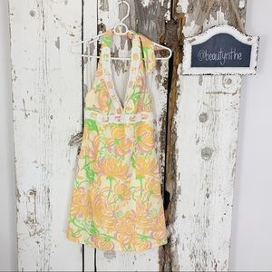 Lilly Pulitzer what a wonderful world beaded dress